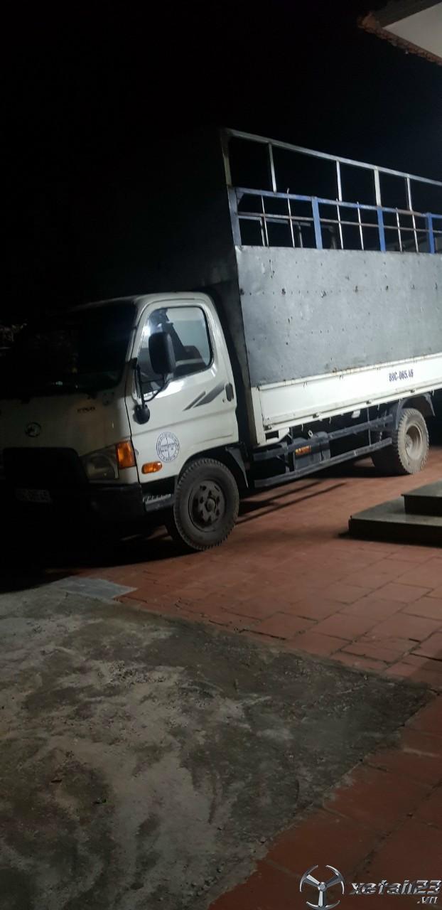 Thanh lý gấp xe Hyundai HD72 đời 2009 thùng mui bạt với giá 320 triệu