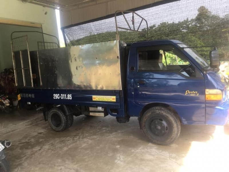 Xe Hyundai Porter đời 2005 thùng mui bạt đã qua sử dụng giá chỉ 170 triệu