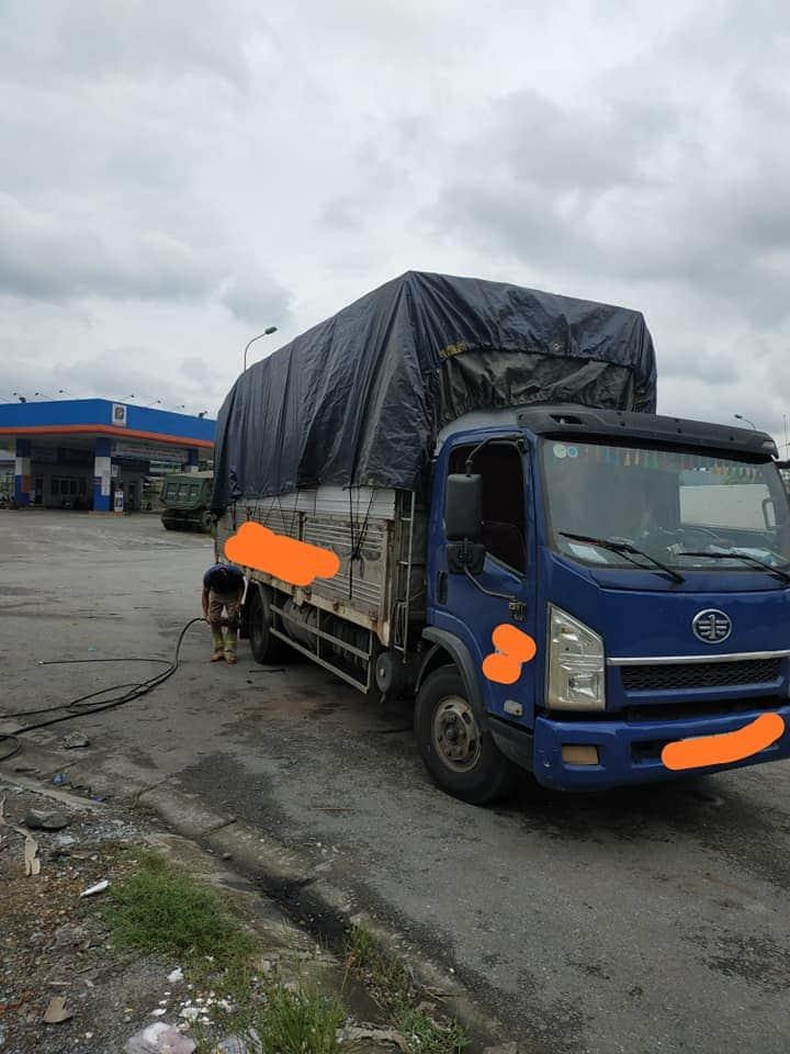 Ô tô tải Giải phóng tải trọng 7,25 tấn, thùng mui bạt dài 6m3 cần bán với giá chỉ 295 triệu