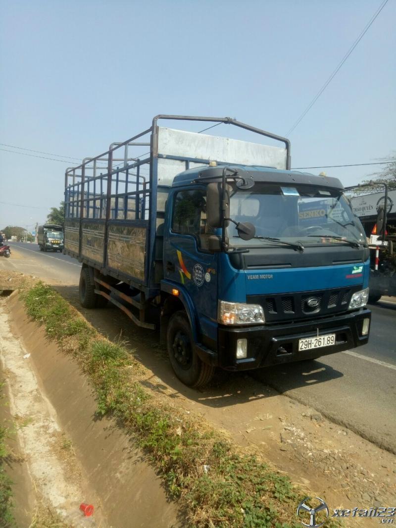 Bán xe tải Veam 7,5 tấn đời 2016 thùng mui bạt