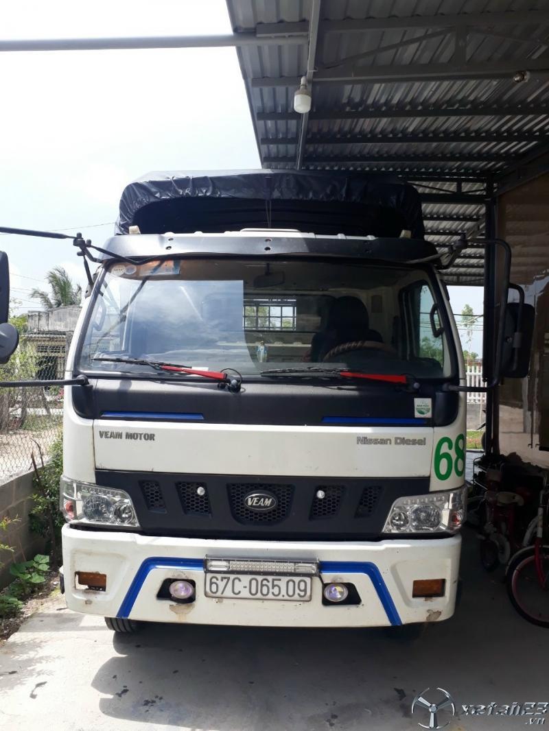 Rao bán xe tải Veam 7,5 tấn sx 2016 thùng mui bạt giá chỉ 270 triệu