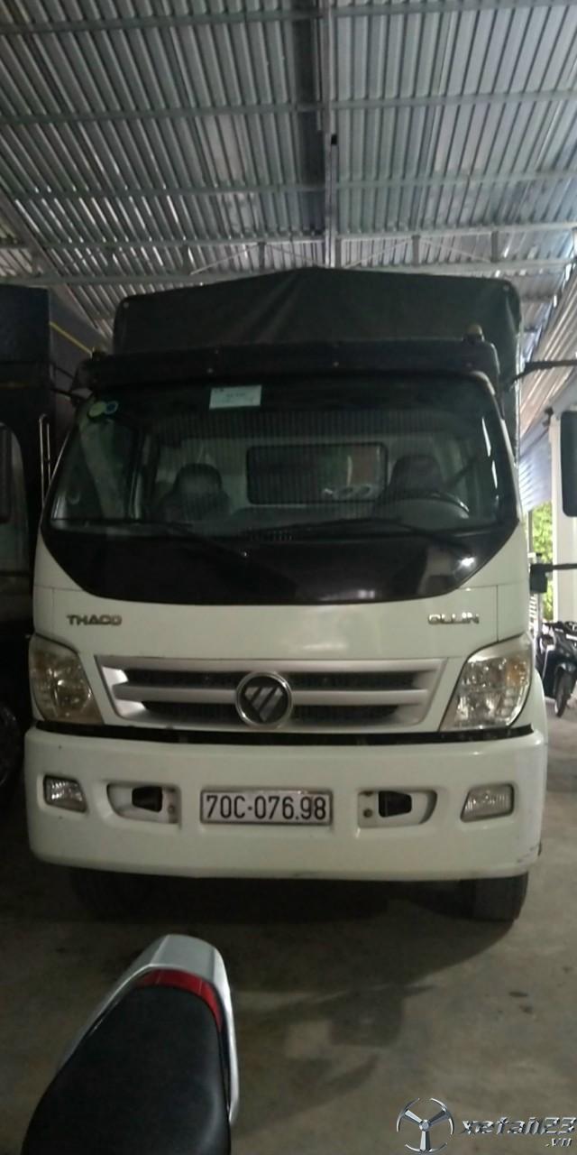 Xe Thaco Ollin 950A sx 2016 thùng mui bạt cần bán với giá 410 triệu