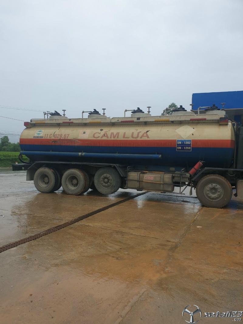Bán xe Xitec Howo chở nhiên liệu sx 2015 , đăng kí 2016