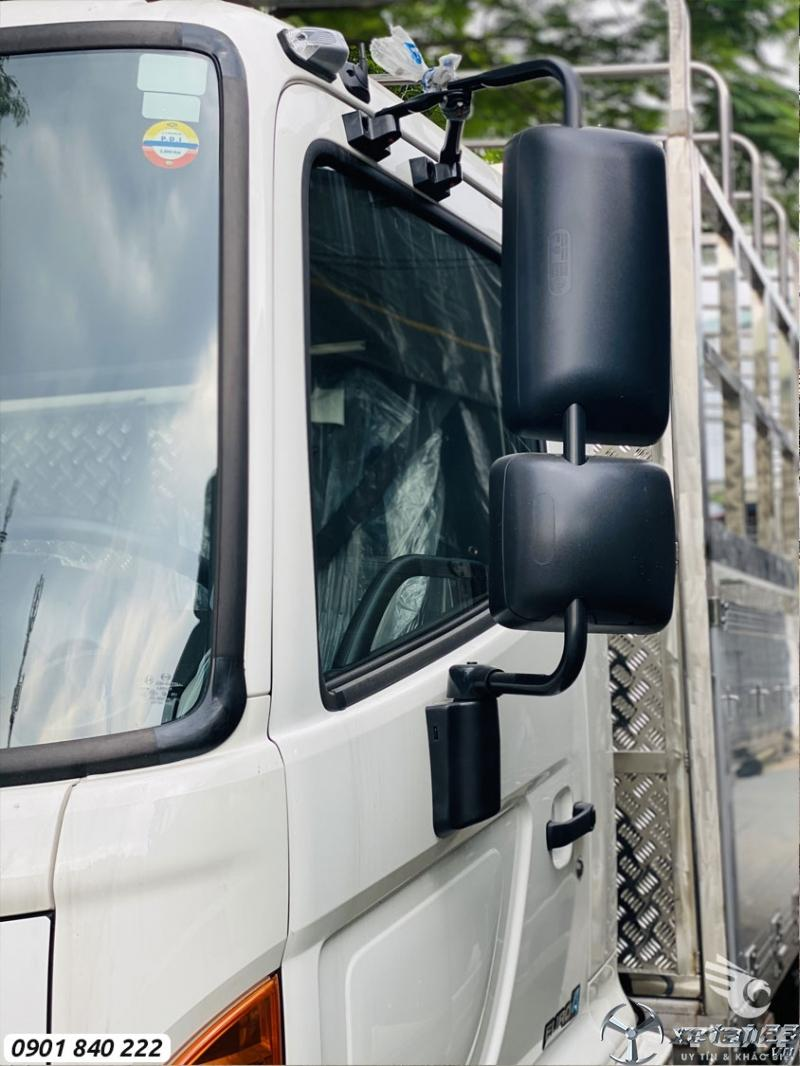 Hino FC9JLTC tải 6T6, thùng 6m7, trả trước 20% nhận xe