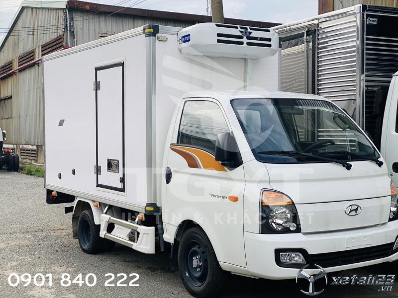 Hyundai H150 thùng đông lạnh, tải 1T1, hỗ trợ trả góp 80%