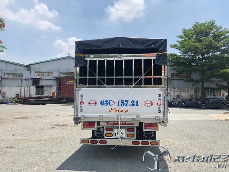 Xe tải HINO FC thùng bạt trả góp 200 triệu nhận xe