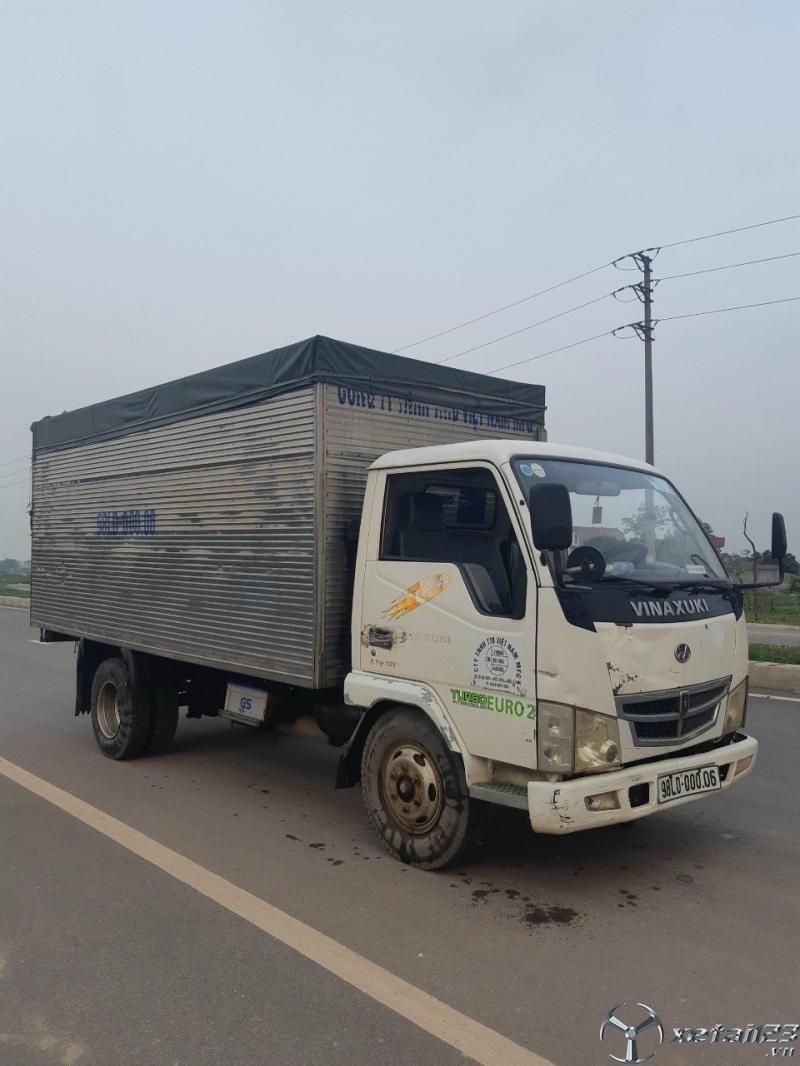 Rao bán xe tải Vinaxuki 2 tấn đời 2007 thùng kín