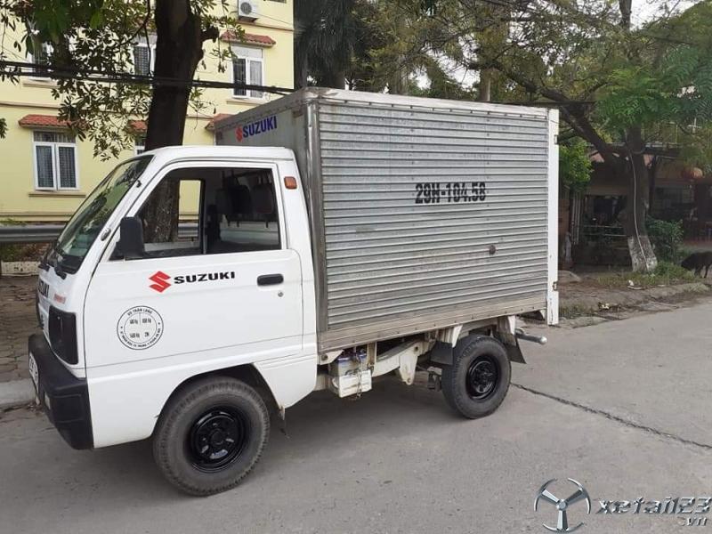 Bán Suzuki đời 2007 thùng kín giá 92 triệu