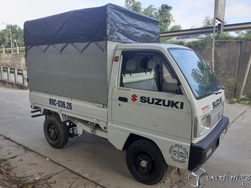 Cần bán gấp xe tải Suzuki đời 2009 thùng mui bạt giá công khai 108 triệu