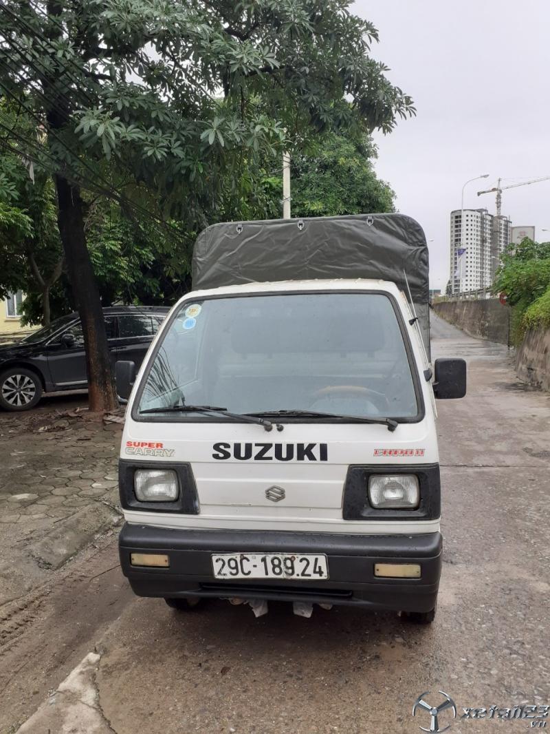 Thanh lý gấp xe tải Suzuki đời 2005 thùng mui bạt giá 66 triệu
