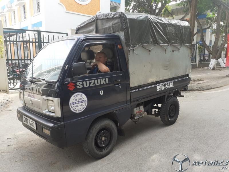 Thanh lý gấp xe tải Suzuki đời 2008 thùng mui bạt với giá 100 triệu