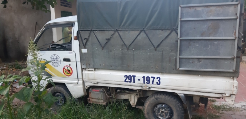 Xe tải Daewoo Labo đời 2000 phiên bản thùng mui bạt đã qua sử dụng giá chỉ 40 triệu