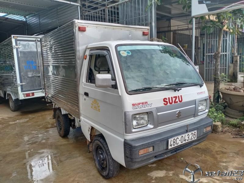Bán gấp xe tải Suzuki đời 2010 phiên bản thùng kín