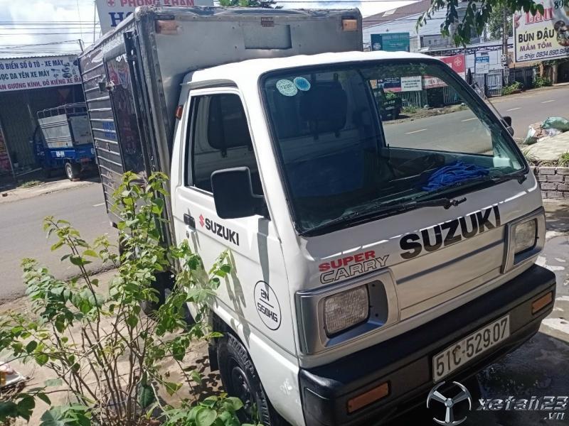 Xe tải Suzuki đời 2003 thùng kín đã qua sử dụng cần bán với giá chỉ 59 triệu