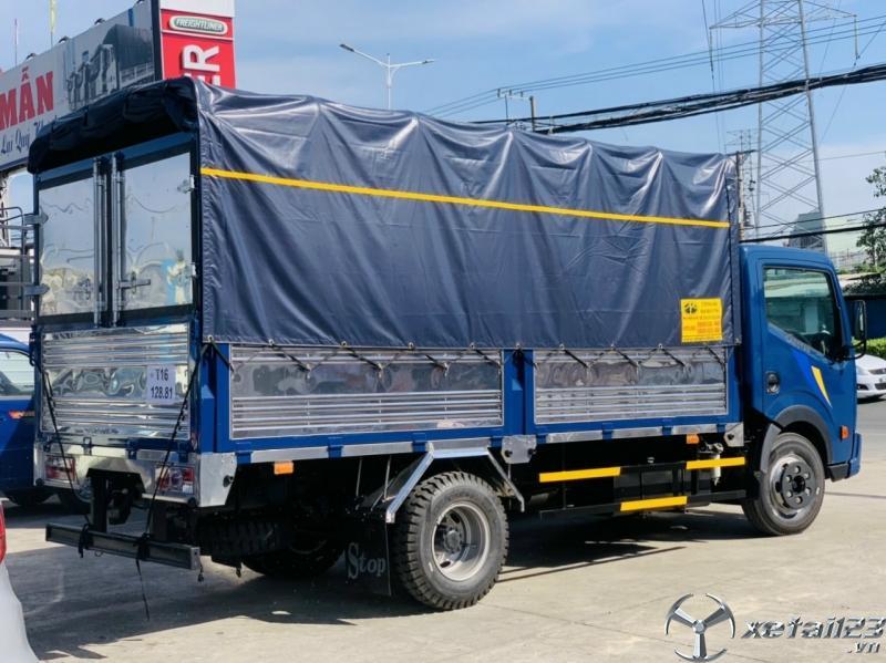 Xe tải 3,5 tấn Nissan thùng dài 4m2
