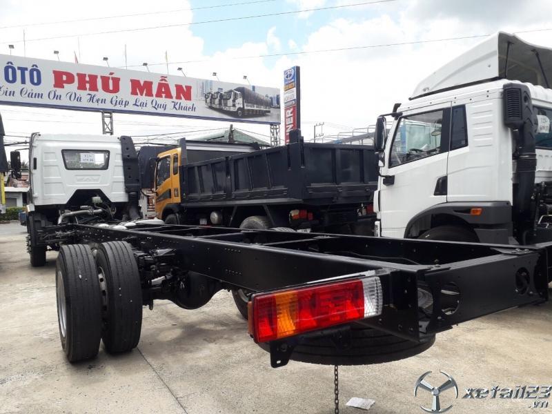 Xe tải 8 tấn thùng dài 9m7