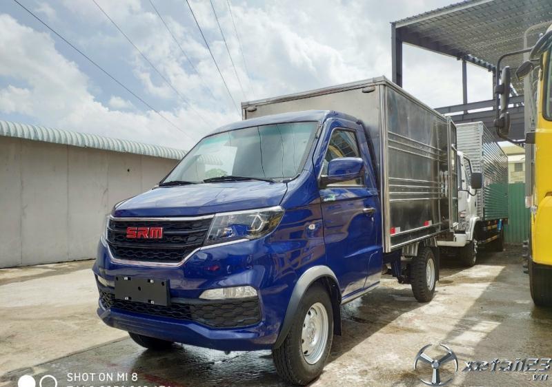 xe tải dongben srm thùng kín 930kg giá rẻ