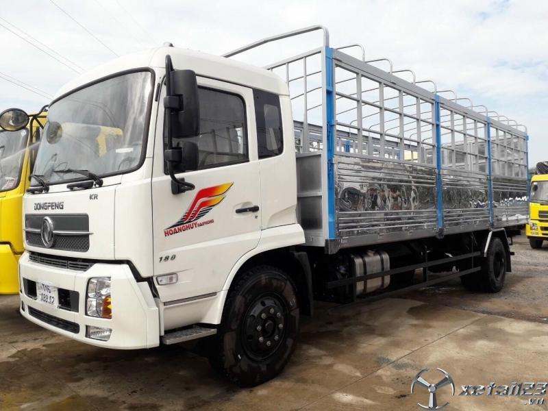 xe tải dongfeng 9 tan thung ngan
