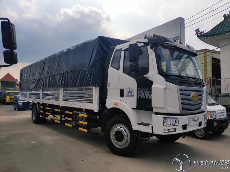 Xe tải Faw 7t25 thùng dài 9m7 - Tặng 100% thuế trước bạ.