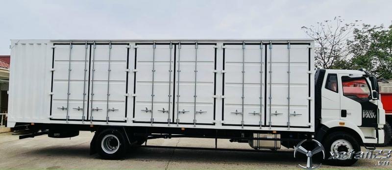 xe tải faw 8 tấn chở pallet điện tử