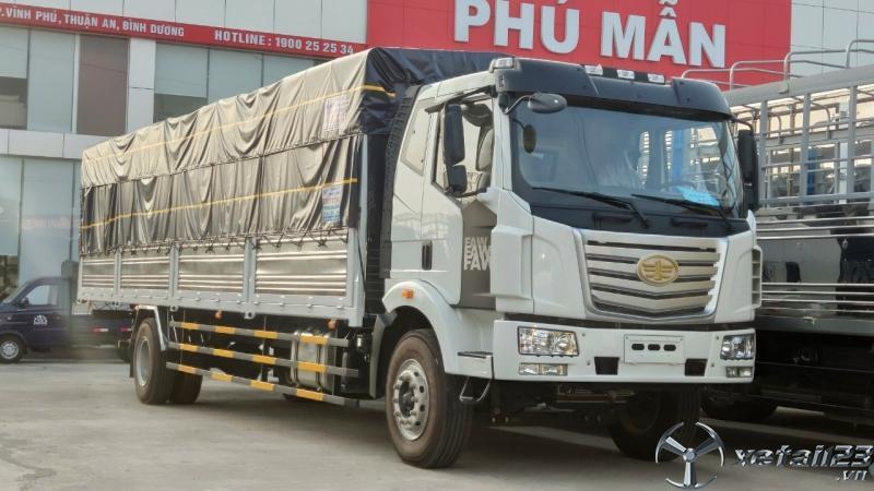 Xe tải faw 8 tấn thùng dài 9m6