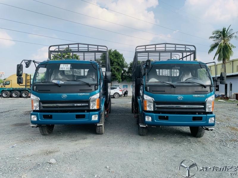 xe tải ga cơ 6,5 tấn thùng dài 6m3 giá nát
