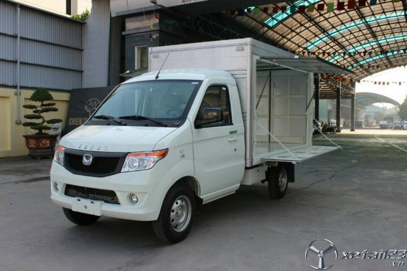 Xe tải Kenbo 990kg thùng cánh dơi