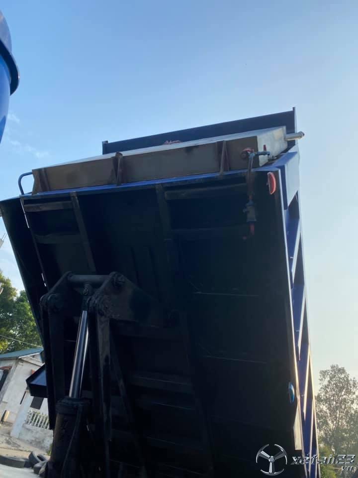 Bán xe tải ben Thaco Trọng tải 9,1 tấn sản xuất năm 2016
