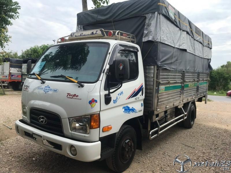Xe Hyundai HD 72  nhập khẩu Hàn Quốc sx 2014 thùng mui bạt cần bán giá 480 triệu