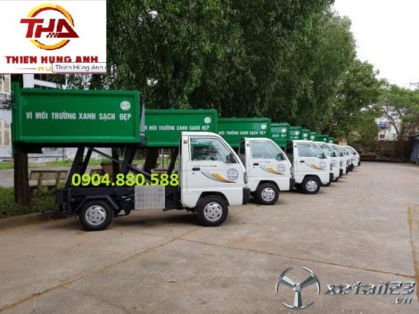 Bán xe chở rác ngõ xóm Thaco Towner mới  giá chỉ 295 triệu