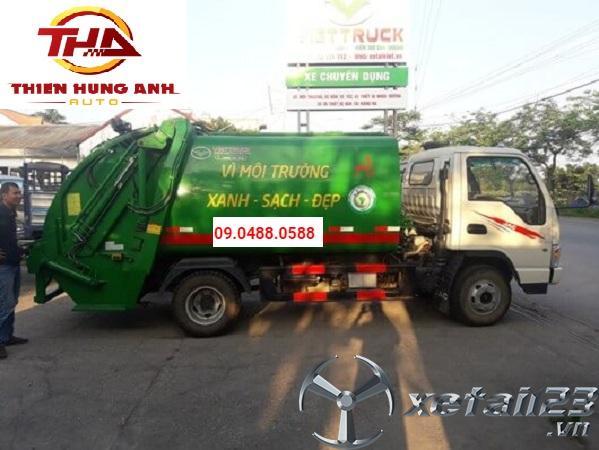 Xe ép chở rác 22 khối Hino FM8JNSA mới 100 % cần bán
