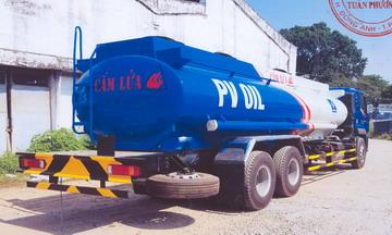 Xe téc chở xăng dầu  17 khối Thaco  Auman C240 mới nhất