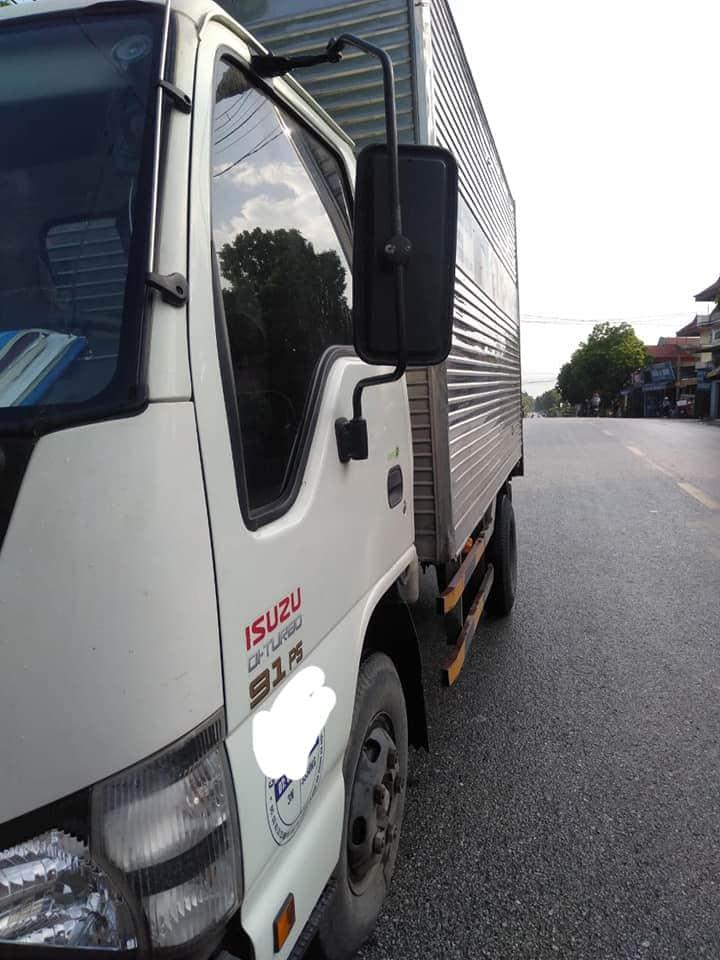 Xe Isuzu sản xuất năm 2017 phiên bản thùng kín đã qua sử dụng giá 335 triệu
