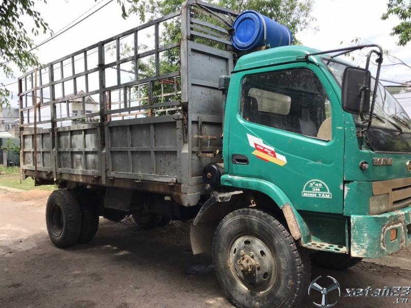 Cần bán xe Hoa Mai 2 cầu , thùng mui bạt dài 5,2 m sản xuất năm 2010 với giá 165 triệu