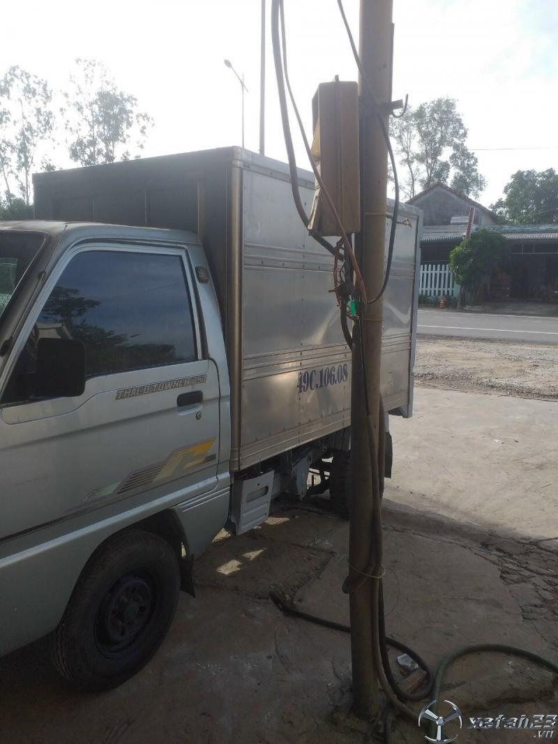 Rao bán xe Thaco Towner đời 2009 thùng kín giá rẻ nhất