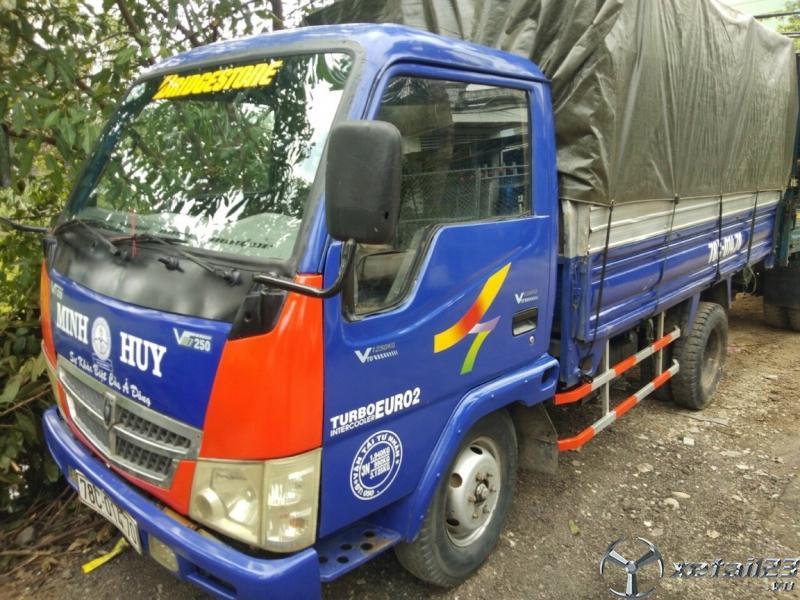 Rao bán xe Vinasuki đời 2008 thùng mui bạt giá chỉ  55 triệu