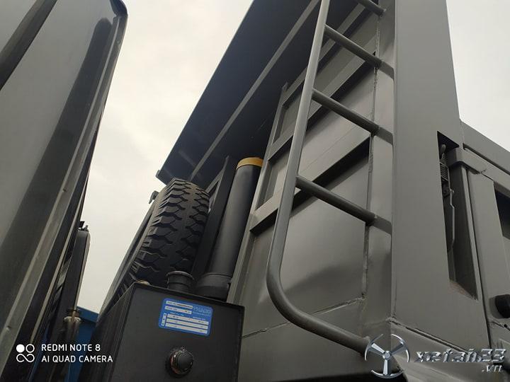 Bán xe ben Thaco Trường Hải 7 tấn máy cơ giá tốt