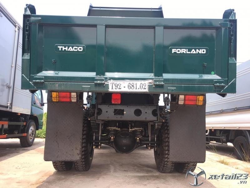 Bán xe ben  Trường Hải Thaco Forland FD650.E4 tải trọng 6,5 tấn máy điện