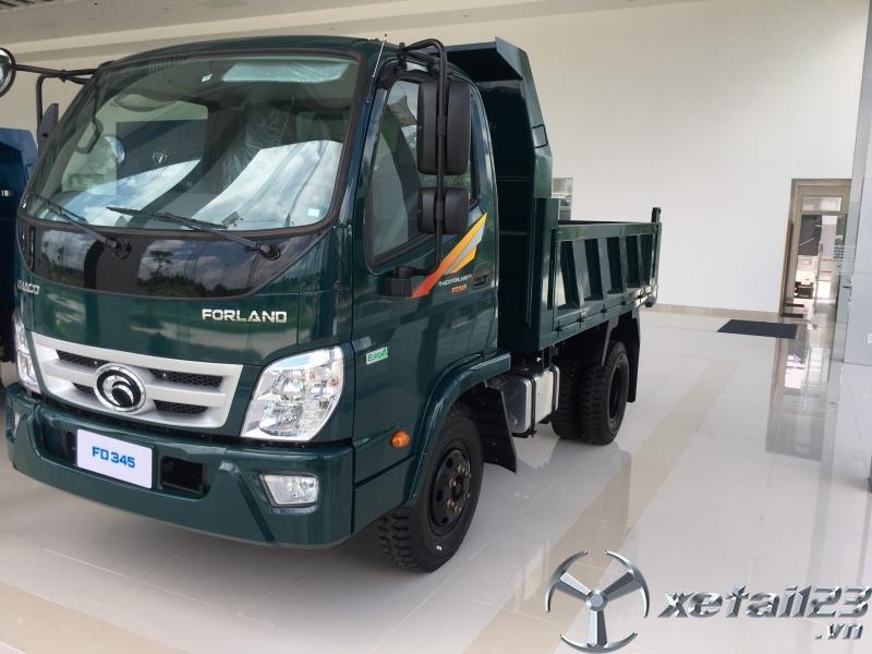 Bán xe ben tự đổ Trường Hải Thaco Forland FD345.E4 tải trọng 3,5 tấn giá tốt