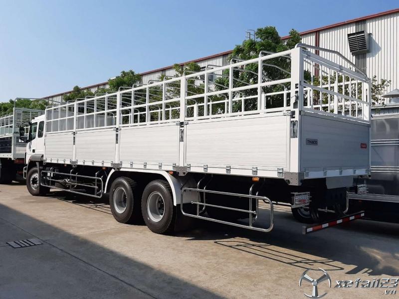 Bán xe tải 3 chân Fuso Mitshubishi FJ285 tải trọng 14,2 tấn