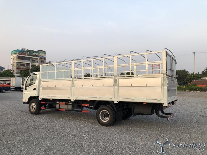 Bán xe tải 7,1 tấn thùng mui bạt Thaco Ollin120.E4 thế hệ mới