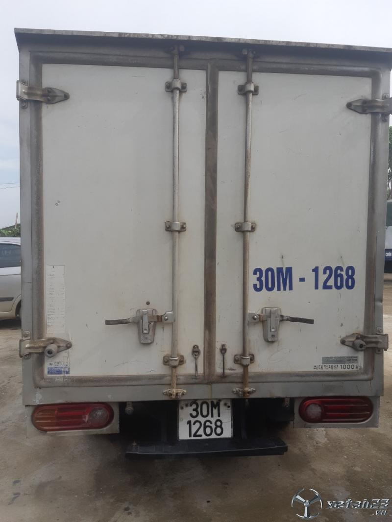 Xe Hyundai porter sản xuất năm 2004 thùng kín cần bán , giá chỉ 130 triệu