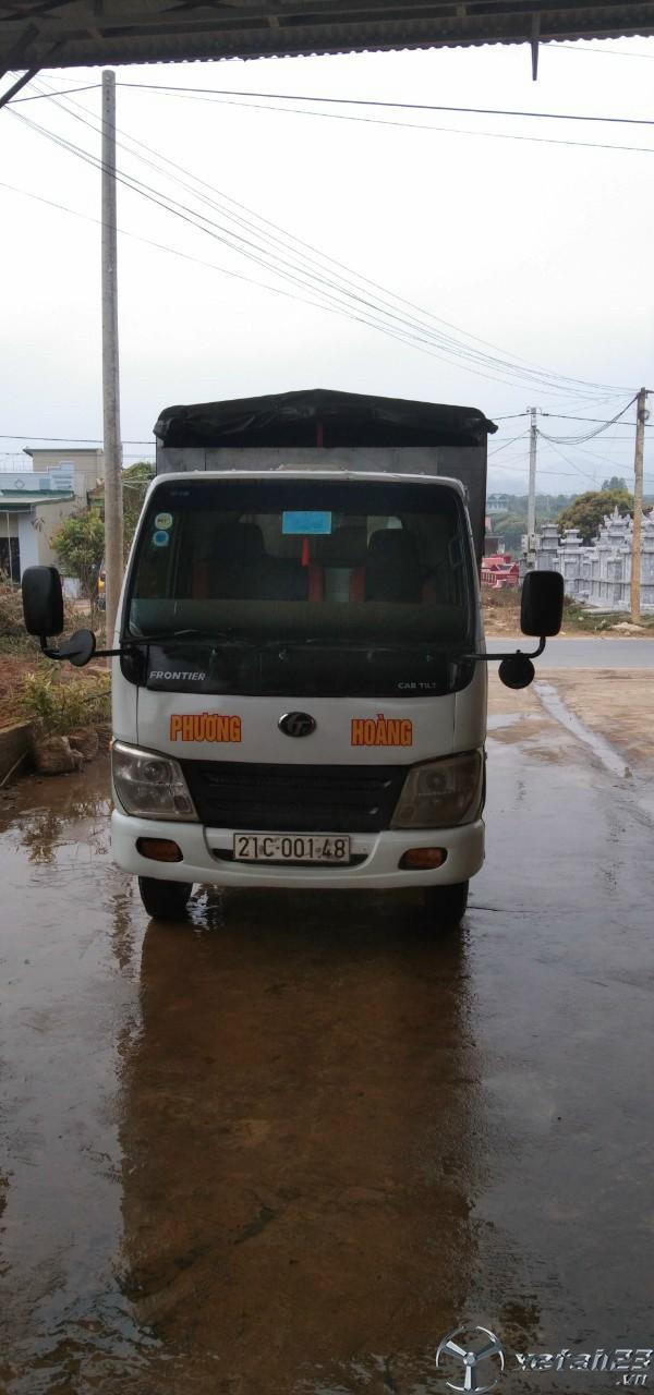 Rao bán xe Trường Giang 1,4 tấn đời 2011 thùng mui bạt