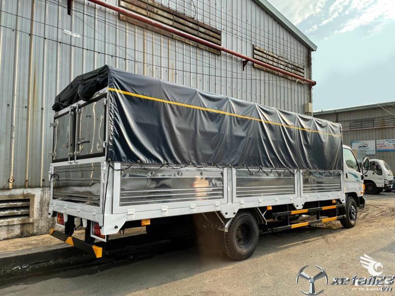 Hyundai 110XL thùng dài 6m3 hỗ trợ trả góp 80%, giao xe nhanh
