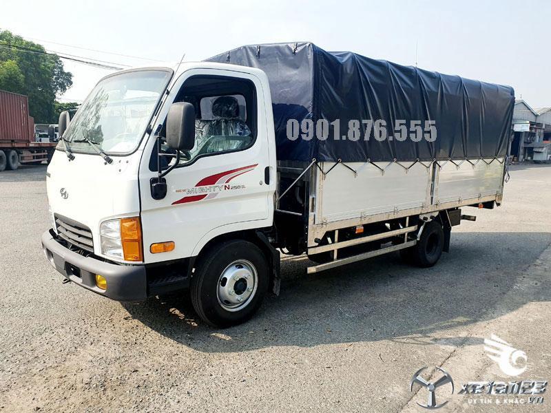 Hyundai N250SL thùng bạt dài 4m3 ngân hàng hỗ trợ vay cao