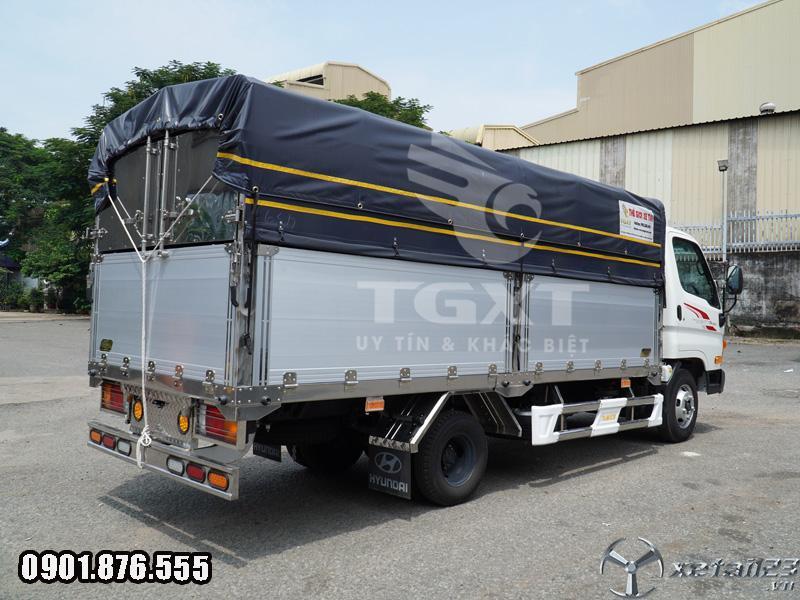 Hyundai N250SL Thùng Bạt Dài 4m3 Xe Có Sẵn Giao Nhanh Tận Nơi