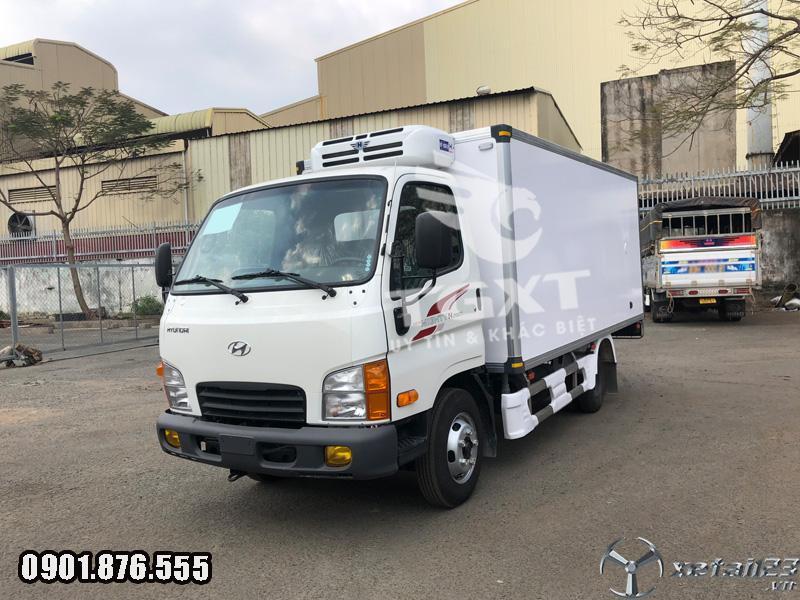 Hyundai N250SL thùng đông lạnh 1t9 dài 4m3