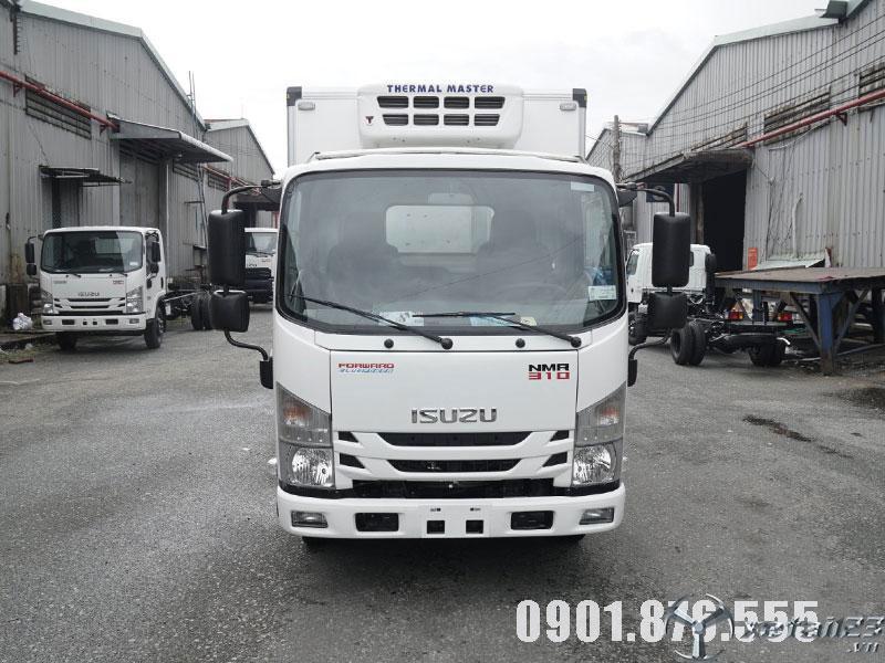 Isuzu NMR310 thùng đông lạnh xe có sẵn giao nhanh