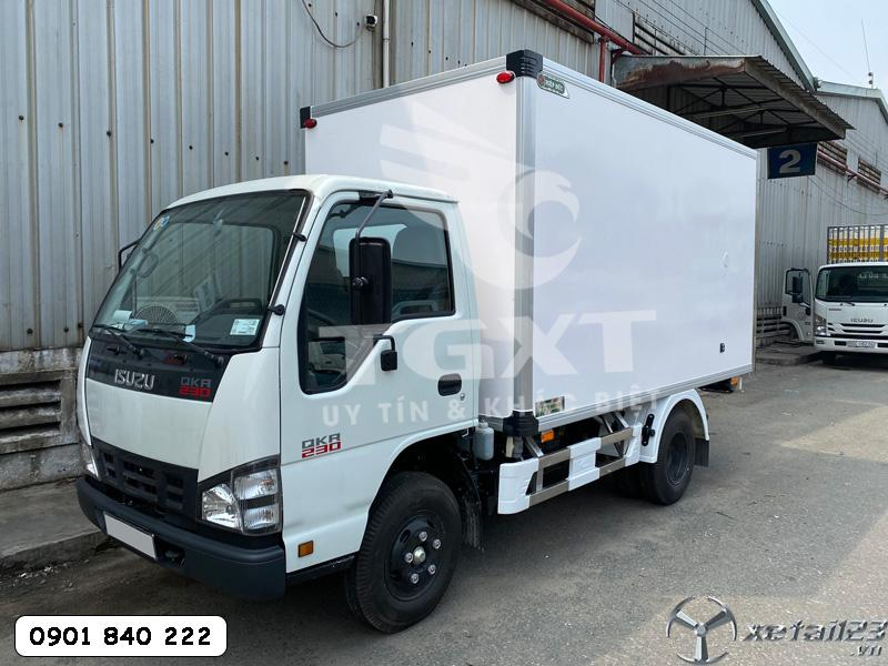 Isuzu QKR230 thùng dài 3m6 ưu đãi giá tốt, ngân hàng vay cao