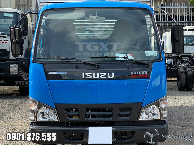 Isuzu QKR270 thùng kín dài 4m3 hỗ trợ trả góp 80% nhận xe ngay